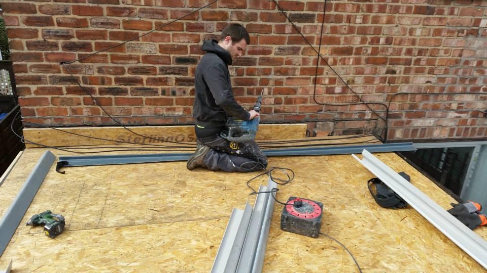 GPR Flat roof